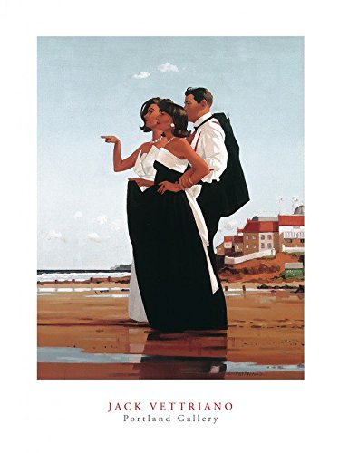 Jack Vettriano Poster/Kunstdruck The Missing Man II 40 x 50 cm