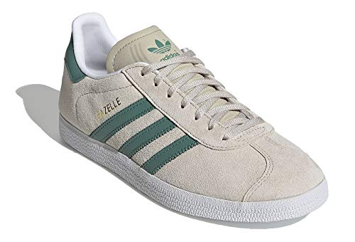 Adidas Gazelle W, Zapatillas de Deporte Mujer, Marrón (Clear Brown/Future Hydro F10/Ftwr White), 36 EU
