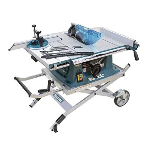 Makita Werkzeug GmbH MLT100NX1 Tischkreissäge 260 mm mit Untergestell, 240 V