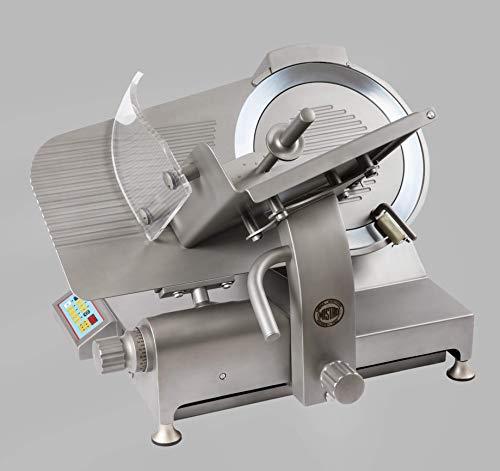 MISTRO GSX 350 INOX SA CE Affettarice a Gravità - omologazione CE uso professionale - lama 35 cm - struttura in Acciaio Inox trasmissione a ingranaggi semiautomatica - Made in Italy