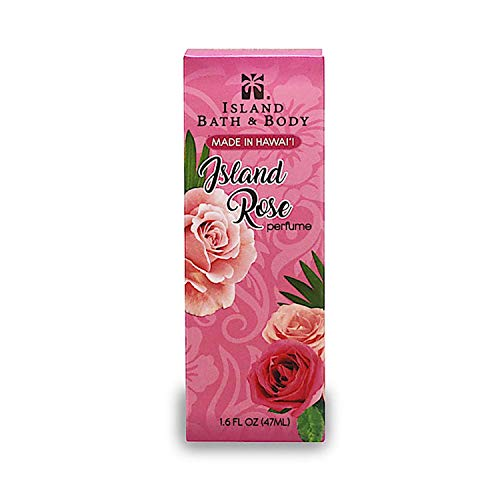 Tikimaster Island Bath and Body Maui Tea Rose Perfume 1.6oz. | Exotic