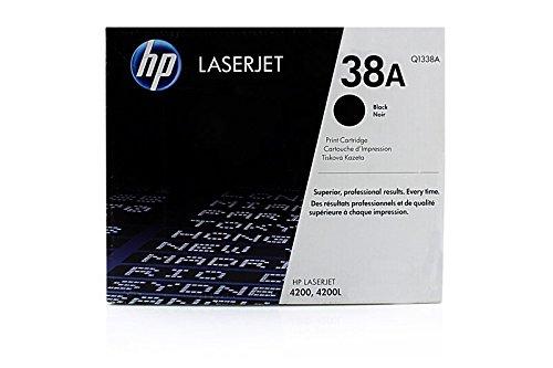 Original HP Q1338A / 38A, für Laserjet 4200 TN Premium Drucker-Kartusche, Schwarz, 12000 Seiten