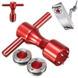 Tools & Home Improvement 2X Golf Weights + Wrench 10/15/20/25/30/35/40g For Titleist Scotty Cameron Putter For home (Size : 15g)
