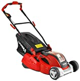 Cobra RM4140V 41cm (16in) Cordless Battery Lawnmower with Rear Roller for a striped lawn, includes a 40v 4Ah...