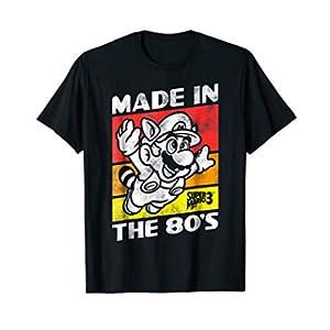 Nintendo Super Mario 3 Made In The 80's Retro T-Shirt T-Shirt