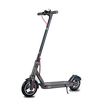 Suotu R5 Electric Scooter Adult Electric Scooter 30 km/h, 40-50 km, 500W Motor, 8.5-inch Air Filled Tire and LCD Screen, Electric Scooter for Adults and Teenagers