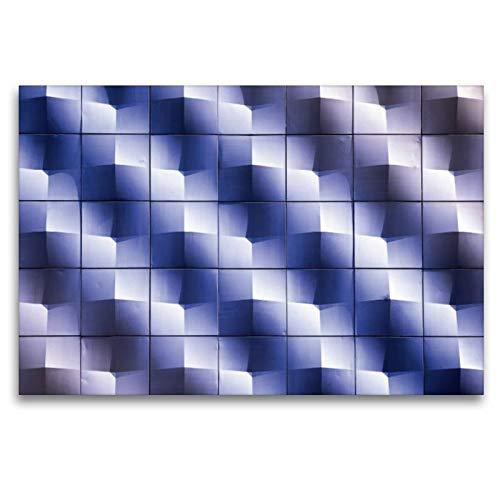 Calvendo Premium Lienzo Textil 120 x 80 cm Formato apaisado luz Solar sobre una Pared de casa, Cuadro de Alta definición sobre Bastidor, Imagen Lista Fuerte sugarsweet - Photo Lugares