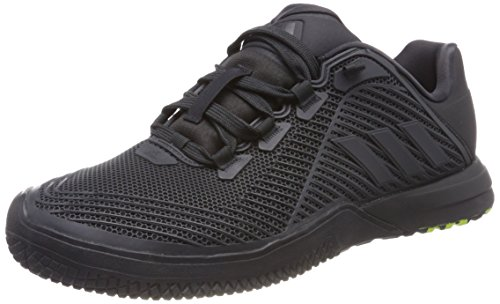 adidas Herren CrazyPower Trainer Gymnastikschuhe, Grau (Carbon S18/core Black/core Black Carbon S18/core Black/core Black), 45 1/3 EU