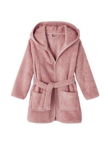 Vertbaudet Peignoir de bain enfant à capuche rose pâle 8A