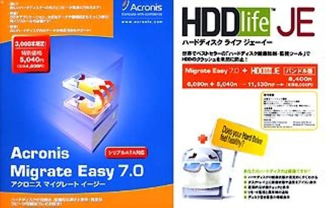 スイ帰する電信Acronis Migrate Easy 7.0+HDDlife JE バンドル版