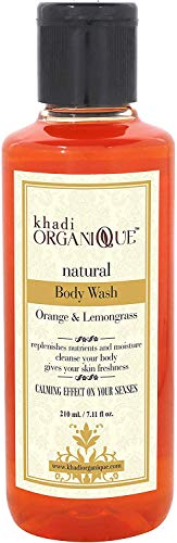 Glamorous Hub Khadi Organique Acondicionador para el cabello a base de hierbas, naranja y limón, 210 g (el embalaje puede variar)