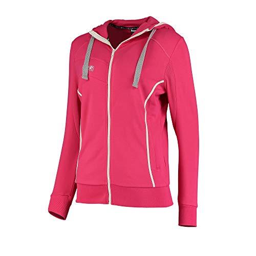 Reece Hockey Kate Kapuzen Jacke Damen - pink white, Größe Reece:XL