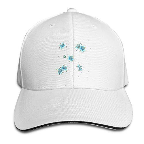 Gorra de béisbol clásica Deportes Sun Hat 8 Colores Silent Princess Pattern