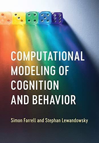 Computational Modeling Cognition & Behav