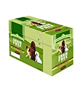 James Wellbeloved Pet Things Jwb Adult Dog Pouches Grain Free Lamb 100g (Pack of 12)