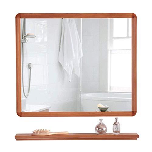 WYBD.Y Moderner minimalistischer Badezimmerspiegel Schrank Badezimmerspiegel mit Regal Bad Wandschrank Mode (Größe: 50X70CM)