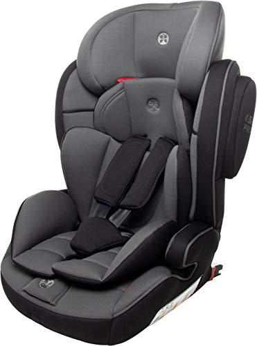 Babyblume Kindersitz Lotus Isofix Gruppe 1 2 3 (9-36 kg), Autositz Black