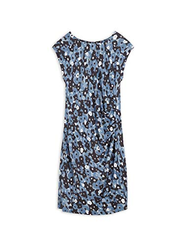 Sandwich Damen Kleid mit Aquarell-Blumenprint