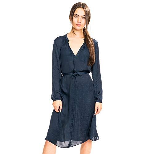 Samsoe & Samsoe elva ls Frauenkleid 10793 Dark Sapphire S