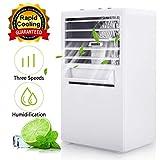 Winload Mini Luftkühler 3 in 1, Mini Klimaanlage Tragbare, 3 Leistungsstufen, Mini Klimagerät mit...