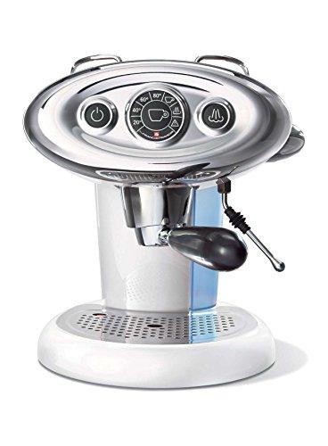 Francis & Francis X7Iperespresso freistehend manuell Maschine Espresso 1.2L 1Tassen weiß–(freistehend, Maschine Espresso Kaffeemaschine, 1,2l, Kaffee Kapsel, 1050W, Weiß)