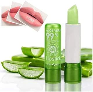 Nexxerex.ahop Aloe Vera Lipstick Color Mood Changing Long Lasting Moisturizing Lipstick