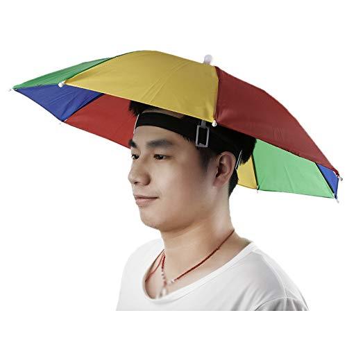 KEKEDA Paraplu Hoed Pet Handen Gratis met Hoofd Band
