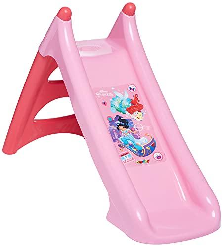 Smoby Princesas Disney - Tobogán infantil XS, Color Rosa (820618)