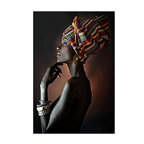 Danjiao 120X180Cm Arte Africano Diadema India Mujer