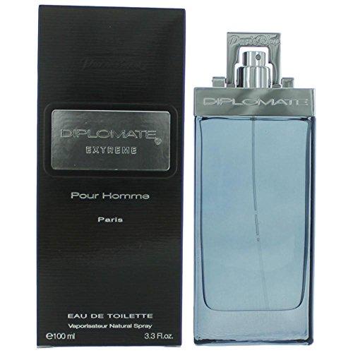 Diplomate Extreme Pour Homme By Paris Bleu Parfums Cologne for Men 3.3 oz / 100 ml Eau De Toilette Spray