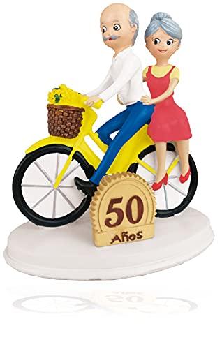 Godie - Figura Novios para pastel, tarta de Boda - Poliresina, Mod....