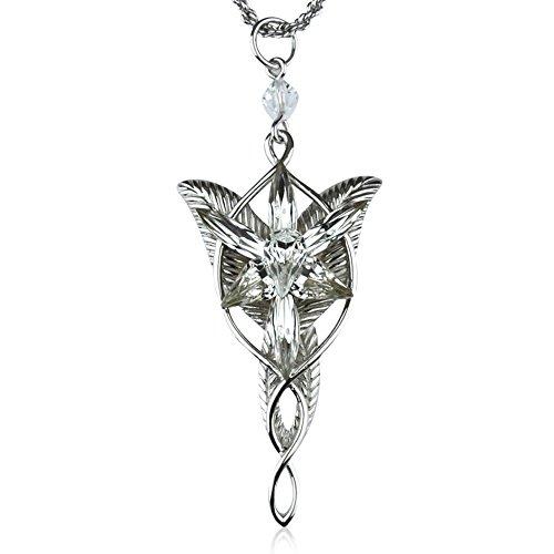 El Seor de los anillos Arwen Evenstar Anh?nger con collar