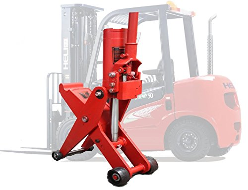5 Ton Hydraulic Forklift Jack Fork Tractor Scissor Lift Jack 11000lbs 28'H