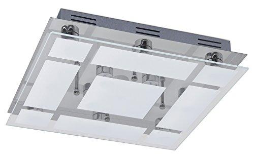 Trango 13-flammig 3 Stufen dimmbar LED Design Bad Deckenleuchte TG3092 Deckenlampe mit 2600 Lumen direkt 230V