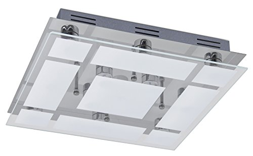 Trango 13-vlammig 3 niveaus dimbaar LED design badkamer plafondlamp TG3092 plafondlamp met 2600 lumen direct 230V