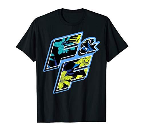 Fast & Furious Tropical Flower Fill T-Shirt