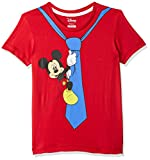 Kidsville Boys' T-Shirt (MF1GBT1995FS Bright Red 3/4)
