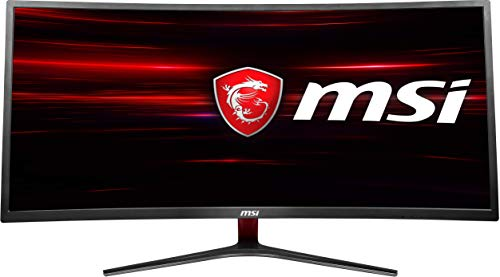 MSI Non-Glare Ultrawide 21: 9 Screen 8ms 3440 X 1440 100Hz Freesync 3K Resolution 34' Curved Gaming...