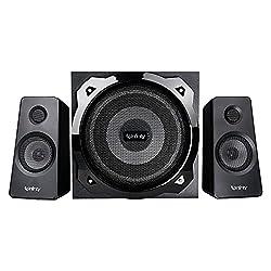 Infinity (JBL) Hardrock 210 Deep Bass 2.1 Channel Multimedia Speaker (100 Watts Peak Output),Infinity,Hard Rock 210,Infinity multimedia speaker,Infinity speaker,Multimedia Speaker,Multimedia speaker systems,Party speakers