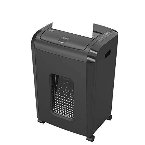 Read About LEFJDNGB Fully Automatic Paper Shredder Mute 3 × 10mm Particles 5 Grade Secret Paper Shredders for Home Use with Large 25 L Pull-Out Waste Bin