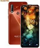 OUKITEL C17pro,Android Unlocked PhoneTriple Camera Octa-Core 4+64GB 3900 mAh Unlocked Cell Phone 6.35 inch HD+ Android 9.0 Pie (Orange)