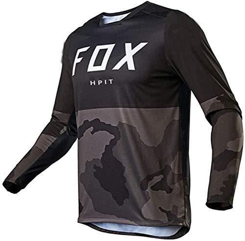 Camiseta Fox MTB, Conjunto de Maillots MTB, Maillot de Motocross Hombre Maillot...