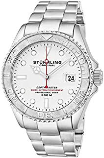 Stuhrling Original Watch for Men, Stainless Steel, 893.01