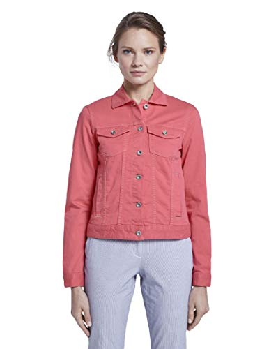 TOM TAILOR Damen Jacken Jeansjacke Charming pink,M