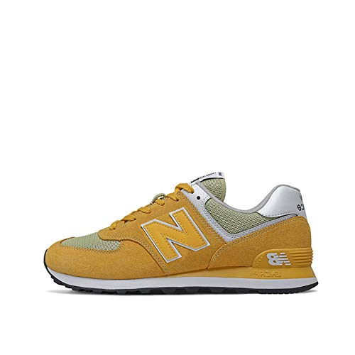New Balance ML574SSJ, Sneaker Hombre, Amarillo, 44 EU