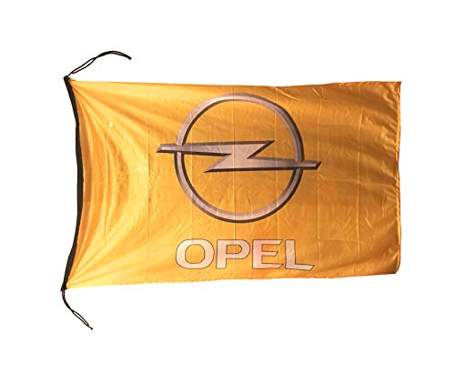 Beautiful Flag Wimpelkette Opel-Flagge, 6,4 x 1,5 m