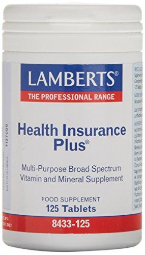 Lamberts Health Insurance Plus, Combinación de Multivitaminas - 125 Tabletas
