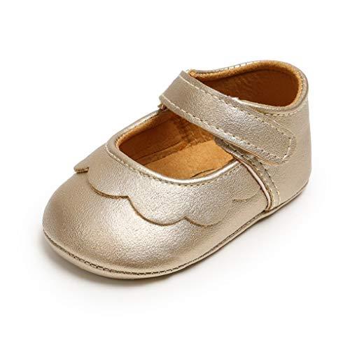 Zapatos de bebé niña Zapatos para recién Nacidos Primeros Pasos Zapatillas Antideslizantes...