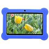 fuwinkr Tableta de 7 Pulgadas para niños, Tableta HD para niños con Cubierta Protectora de Silicona, Control Parental, Tableta de Aprendizaje de Cuatro núcleos 1 + 8G para niños Niños(Reino Unido)