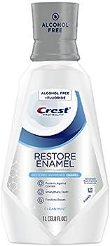 Crest Pro-Health Restore Enamel Mouthwash, Clean Mint